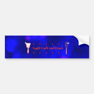 Angel Craft and Bakes Bumper sticker