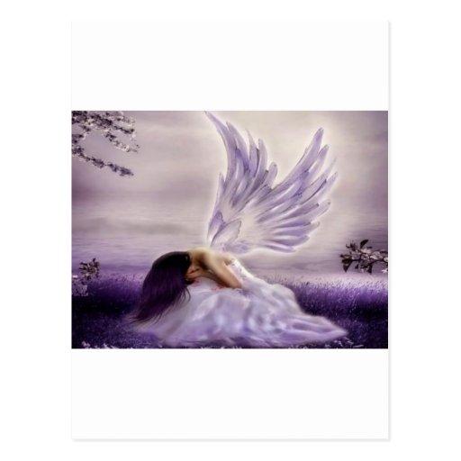 angel crying.jpg postcard