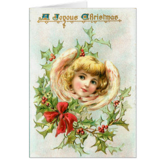 Angel Custom Christmas Greeting Card