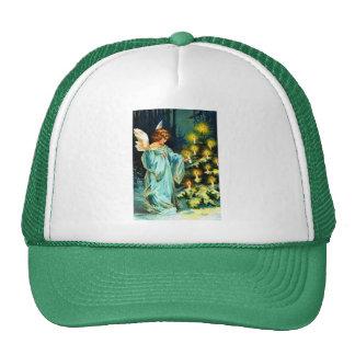 Angel Decorating Christmas Tree Cap