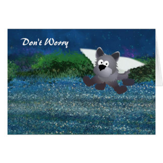 Angel Dog Universal Support Card