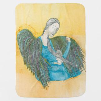 Angel dove baby blanket