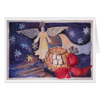 angel/Dove Christmas Card