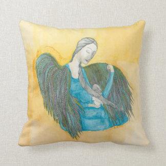 Angel Dove throw pillows