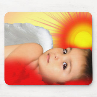 ANGEL DREAMS RISE AND SHINE MOUSE PAD