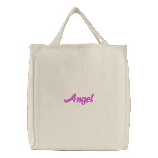 Angel Embroidered Bag