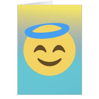 Angel Emoji Card