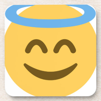 Angel Emoji Coaster