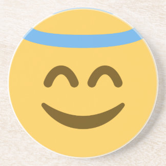 Angel Emoji Coaster