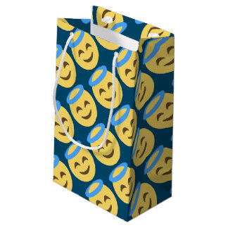 Angel Emoji Small Gift Bag