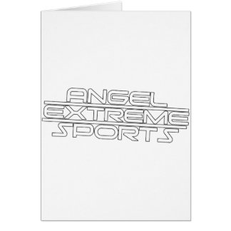 Angel Extreme Sports - AXS - Brand - 1 Greeting Card