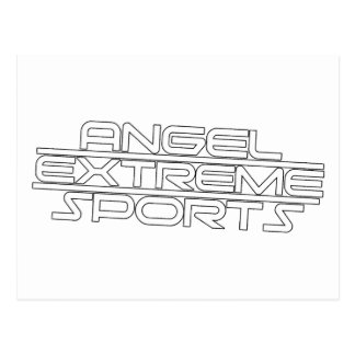 Angel Extreme Sports - AXS - Brand - 1 Postcard