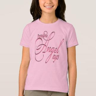 Angel Eyes - Girls Ringer T-Shirt