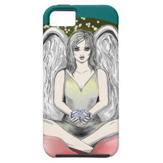 angel, fairy on lily pad, cell phone case, cover iPhone 5 cases