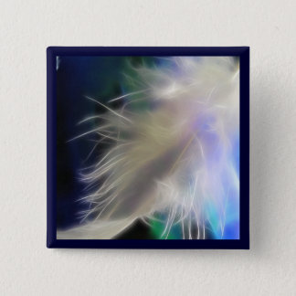 Angel Feather! 15 Cm Square Badge