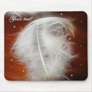 Angel Feather 2 Mouse Pad