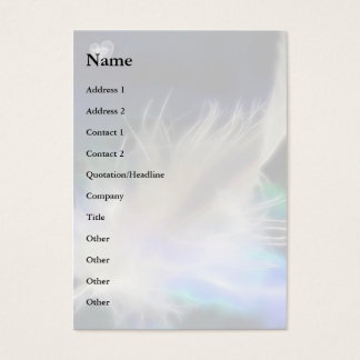 Angel Feather and Heart! Business Card