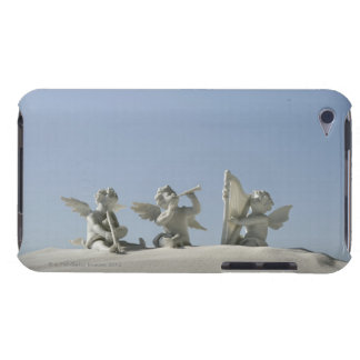 Angel figurines with musical instruments on iPod Case-Mate case