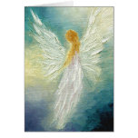 """Angel"" Fine Art Greeting Card"