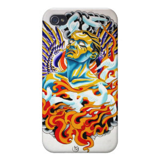 angel fire iPhone 4/4S cases