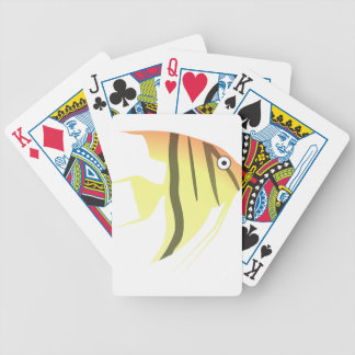 Angel Fish Cartoon Bicycle Playing Cards