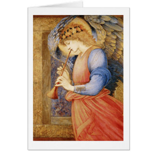 Angel Flageolet Note Card