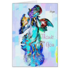 Angel Flute Thank You Card