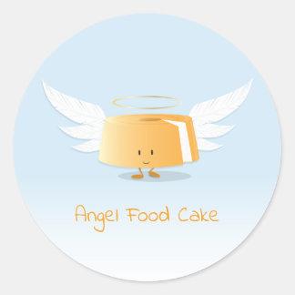 Angel Food Cake   Sticker
