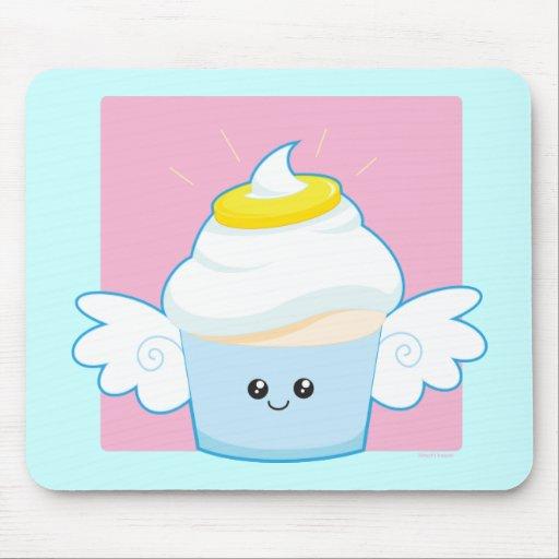 Angel Food Cupcake Mouse Pad