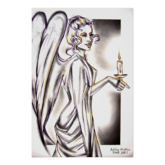Angel from The Nutcracker Ballet Poster