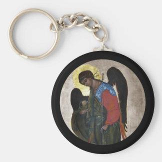Angel Gabriel Icon Key Ring