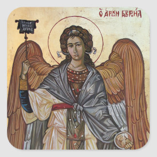 Angel Gabriel Square Sticker