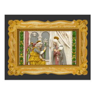 Angel Gabriel The Annunciation To Mary Postcard