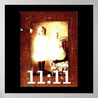 Angel Genetix 11:11 Poster