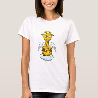 Angel Giraffe Cartoon T-Shirt