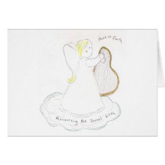 Angel Girl Greeting Card