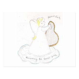 Angel Girl Postcard