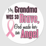 Angel GRANDMA Breast Cancer T-Shirts & Apparel