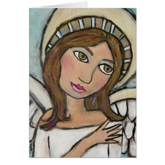 Angel Greeting Card (Customizable)