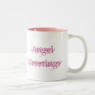 Angel Greetings Two-Tone Mug