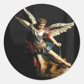 Angel Guardian Saint Michael sticker