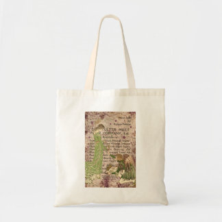 Angel handing paint brushes to Dryad artist Tote Bag