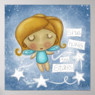 Angel Hangs the Stars Poster