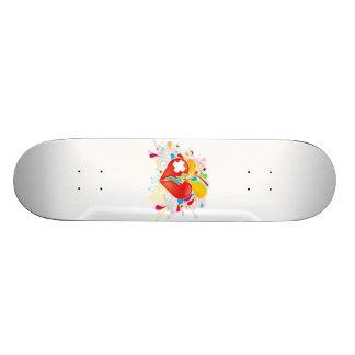 Angel_Heart 21.3 Cm Mini Skateboard Deck