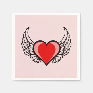 Angel Heart Disposable Napkin