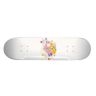Angel_Heart Skate Board Decks