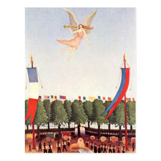 Angel, Henri Rousseau Fine Art Postcard