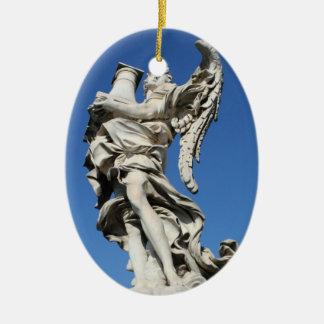 angel I Ceramic Oval Decoration