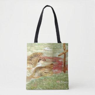 Angel in Flight Design 1 Tote Bag