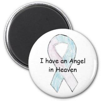 Angel in heaven magnet